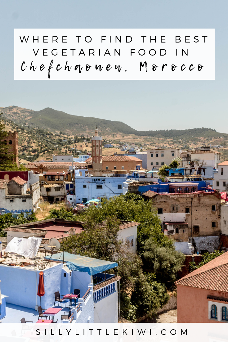 where to find the best vegetarian food in Chefchaouen, Morocco