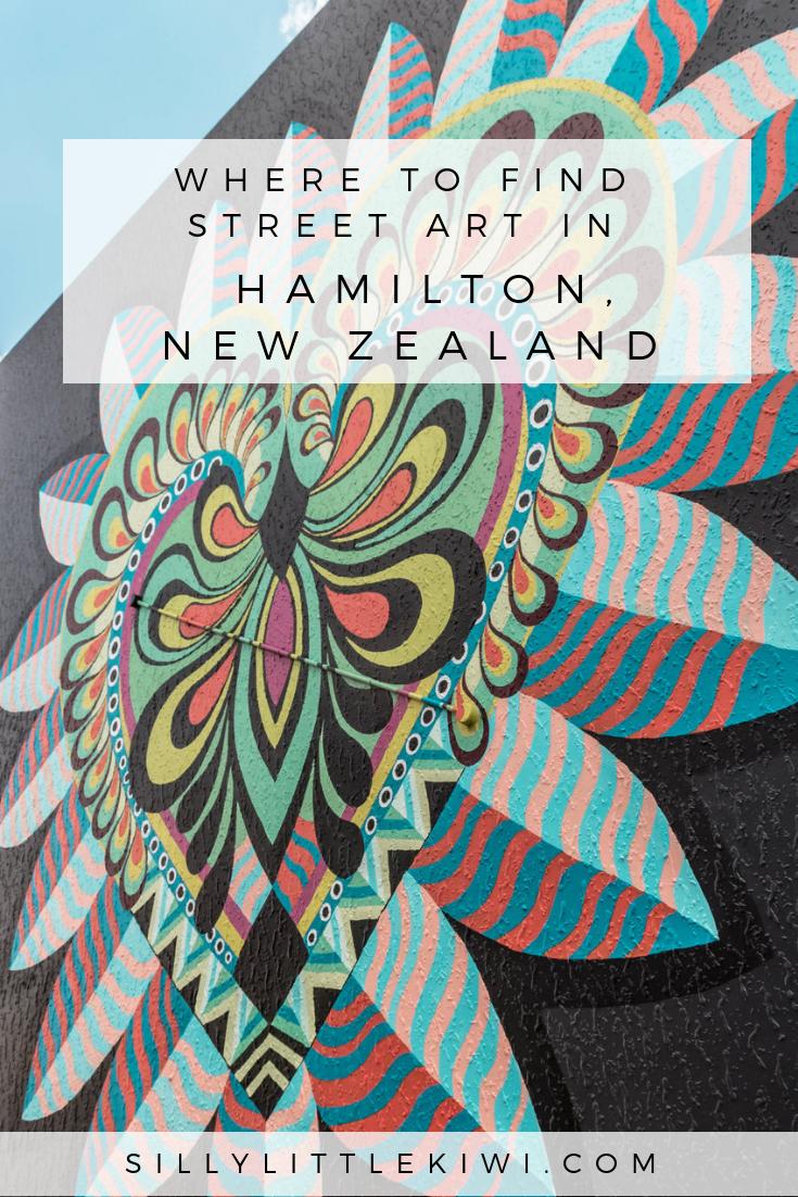Where to find street art in Hamilton, New Zealand #streetart #instagramguide