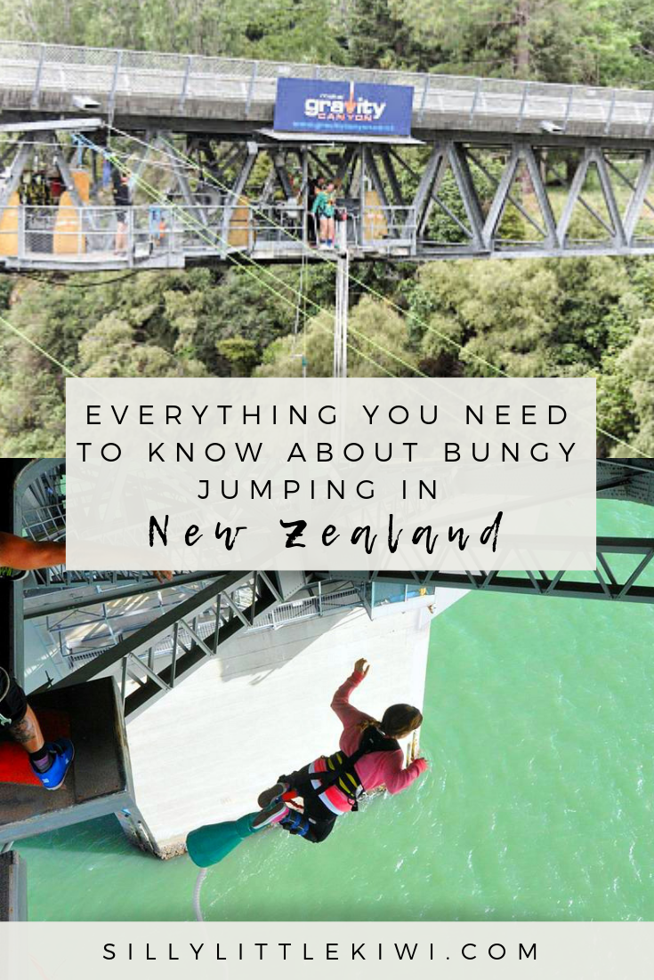 bungee jumping in New Zealand: everything you need to know before you take the leap #newzealand #newzealandtravel #bungee #newzealandthingstodo