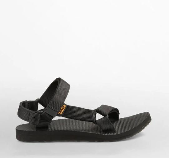 Teva's Black Universal Sandal in Black