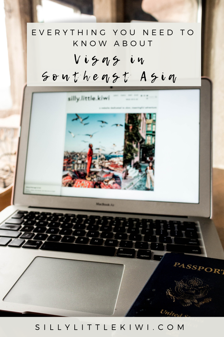 """Everything you need to know about visas in Southeast Asia! Southeast Asia is popular for tourists thanks to its affordability, wild landscapes, and the appeal of its """"exotic""""-ness. It's because of this, knowing that many people want to travel this part of the world, that I decided to but together a detailed guide on visas for U.S. Citizens traveling through the region.  #southeastasia"""