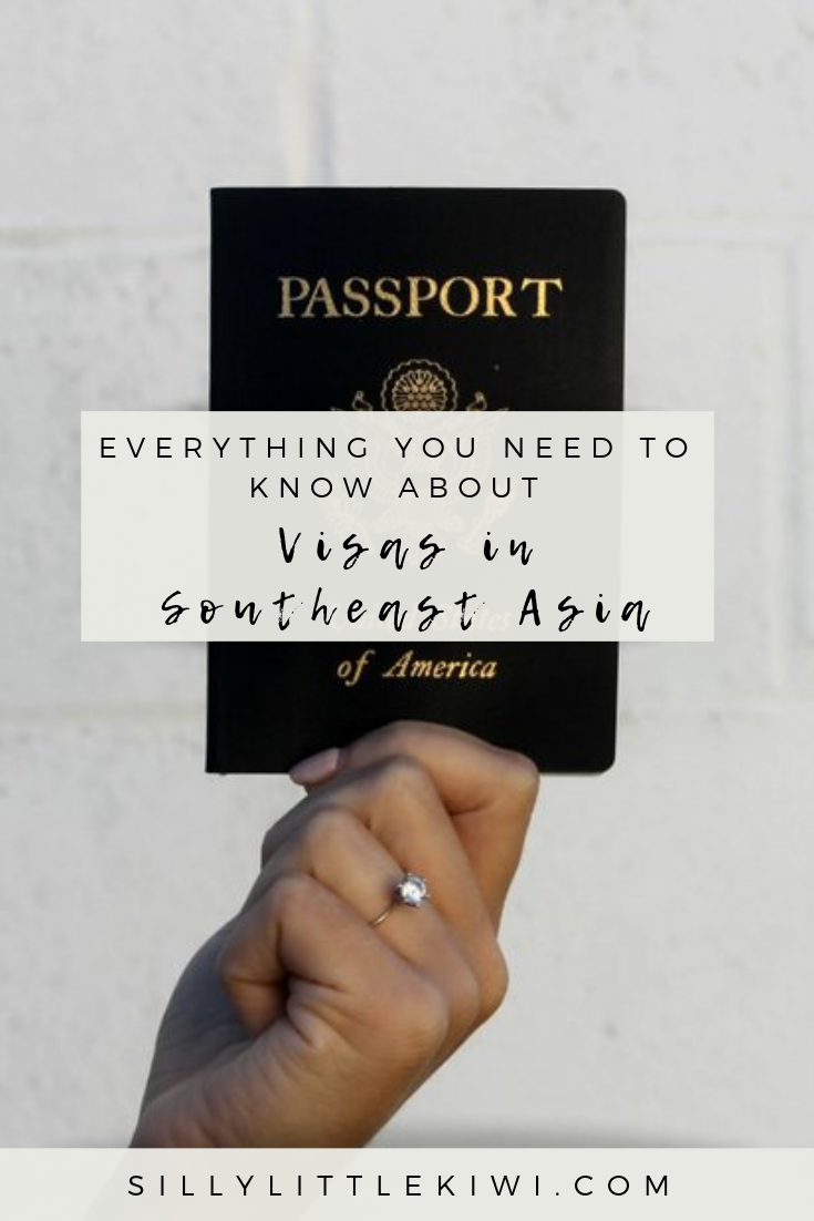 ta comprehensive guide to visas for U.S. citizens traveling Southeast Asia: how to get your visa for Thailand, Cambodia, Laos, Vietnam, + Myanmar in 2019