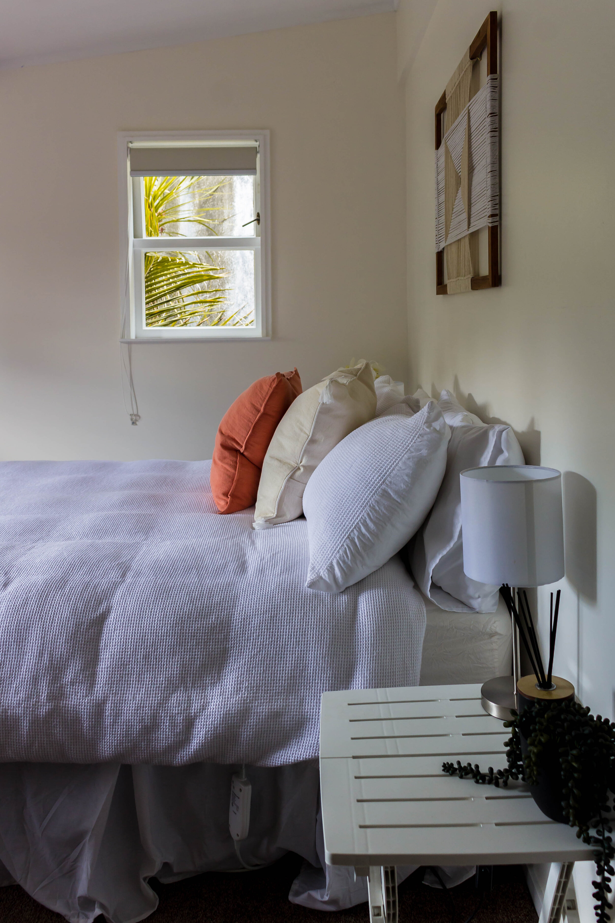where to stay on New Zealand's west coast: my garden shed studio stay in Muriwai Beach