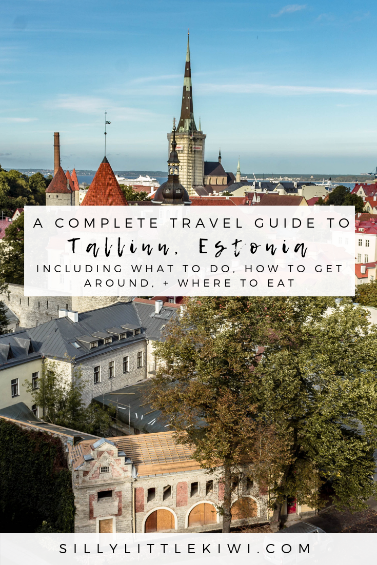 a complete Tallinn travel guide: where to eat, how to get around, + 10 things to do in Tallinn, Estonia #traveltallinn #tallinnthingstodo #visitestonia