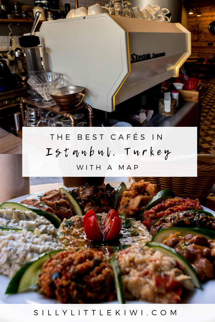 a café guide to Istanbul, Turkey: 10 of the best cafés + work spaces across the city #istanbultravel #cafesistanbul #thingstodoistanbul