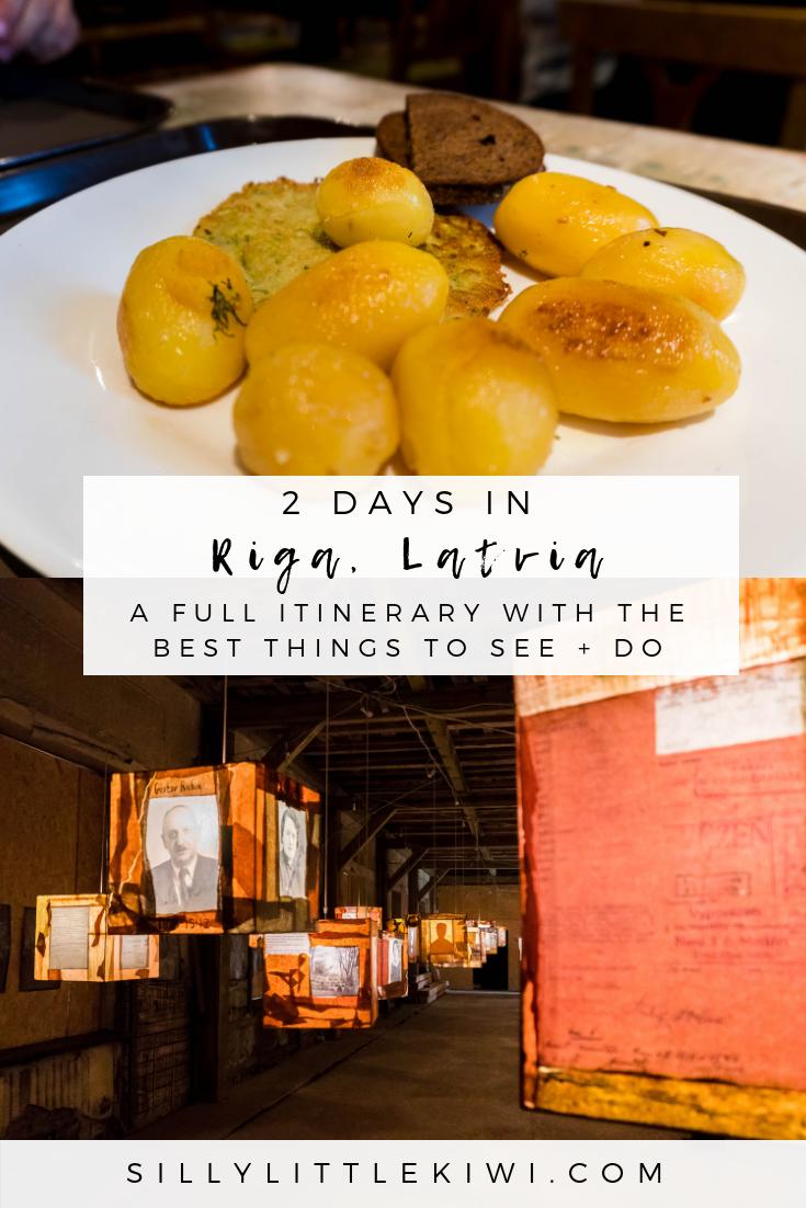2 days in Riga, Latvia: the best things to see + do #travelriga #thingstodoriga #latviatravel