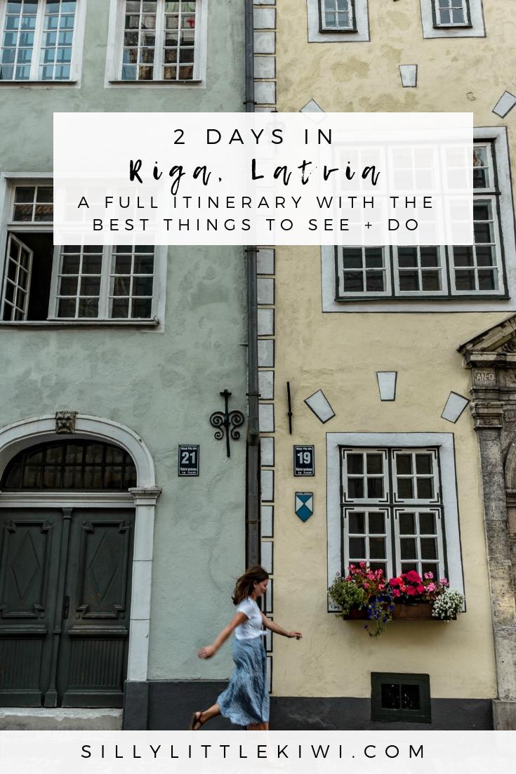 2 days in Riga, Latvia: the best things to see + do #thingstodoriga #travelriga #latviatravel