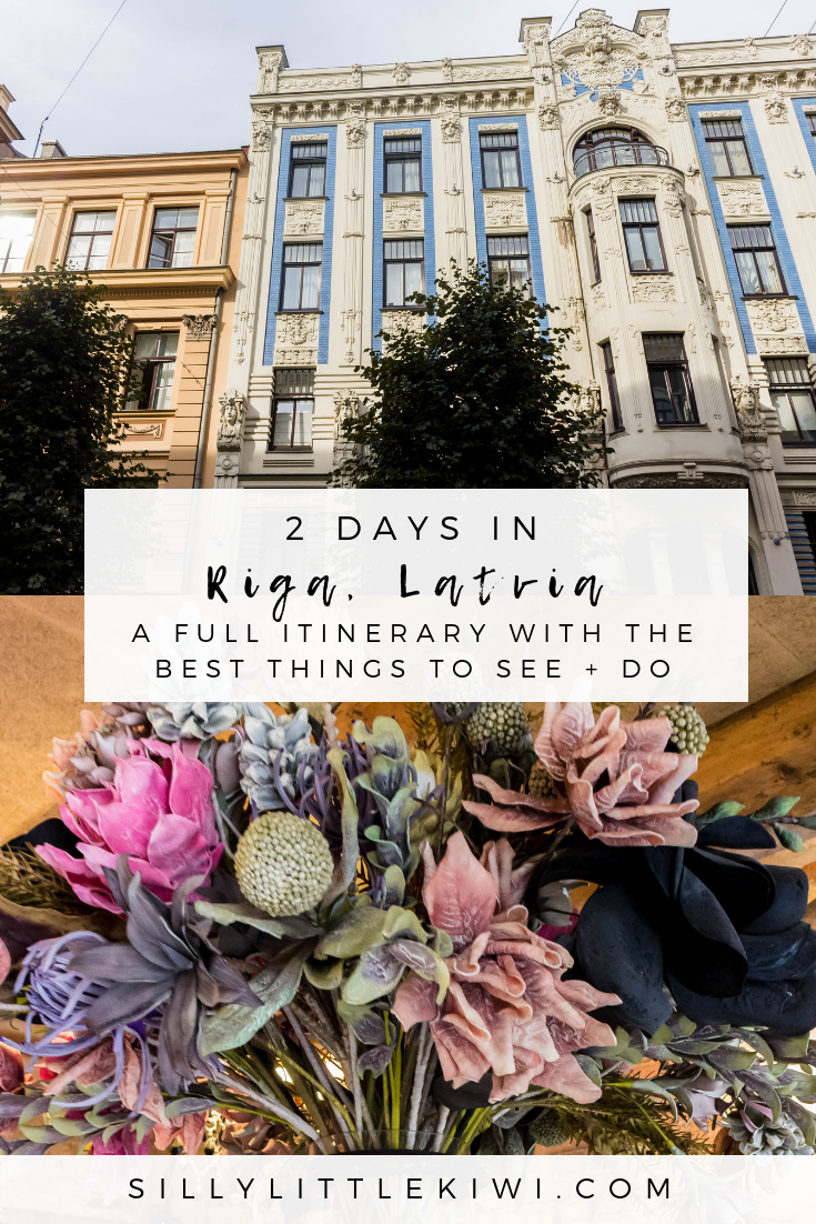 2 days in Riga, Latvia: the best things to see + do #rigatravel #thingstodoriga #latvia #rigalatvia