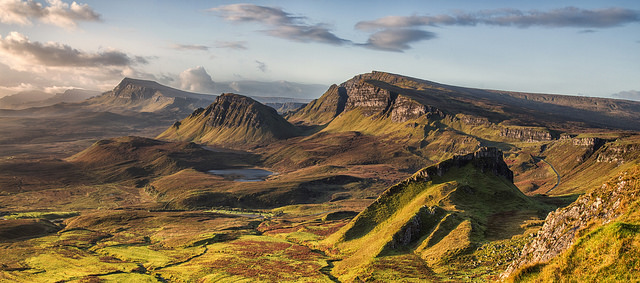 The Quiraing, Isle of Skye. Photograph by John Mcsporran used under a Creative Commons licence (CC BY-NC-SA 2.0).