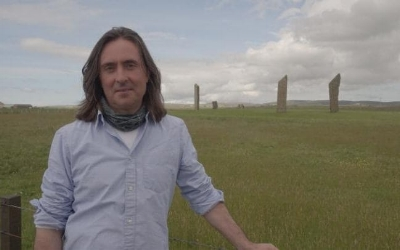TV presenter Neil Oliver. Photograph: BBC.