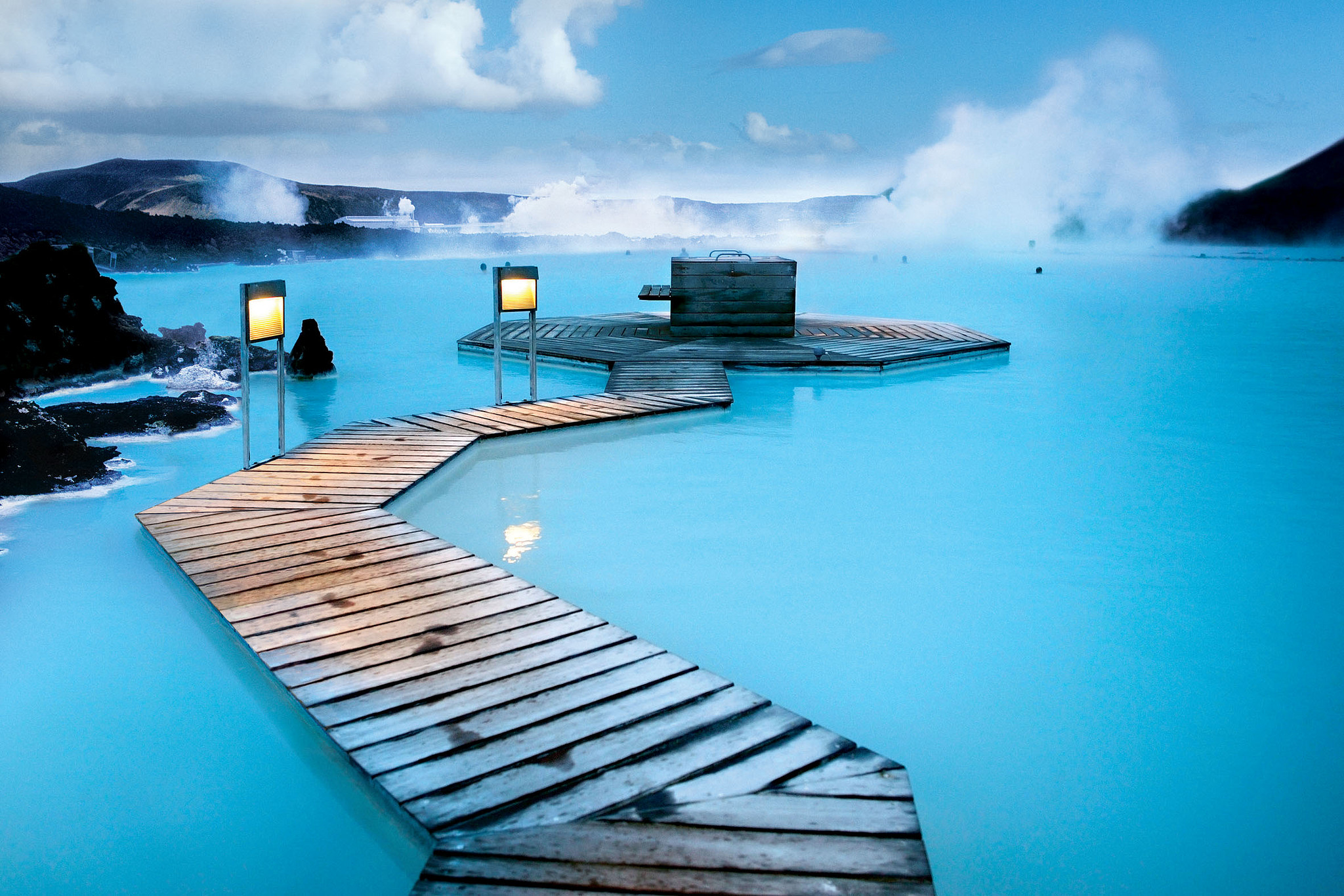 The Blue Lagoon. Photograph by Roderick Elme Cc 2.0.