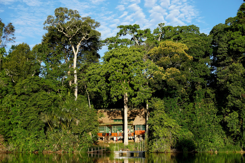 Cocha Cashu Biological Station. Photograph: Jessica Groenendijk