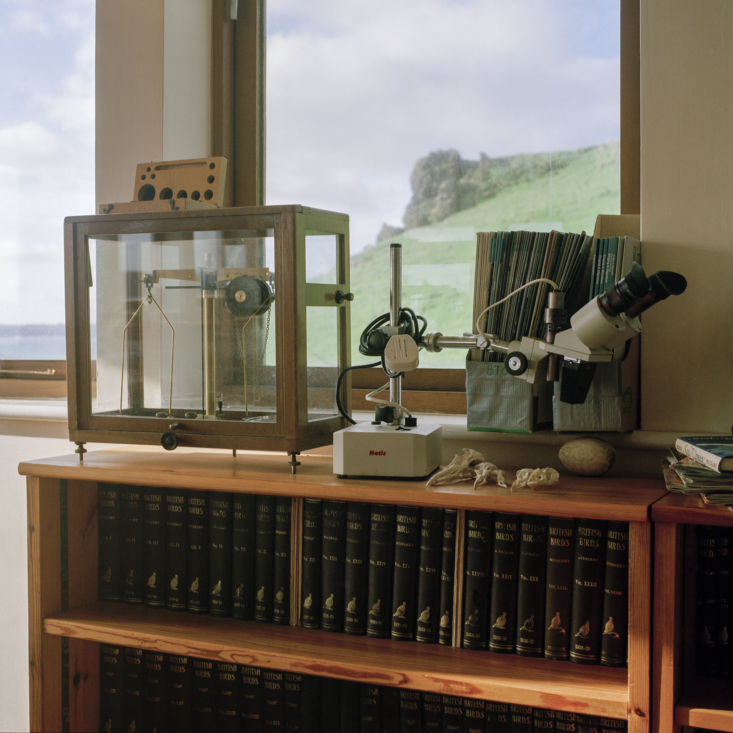 Research Lab, Skomer Island