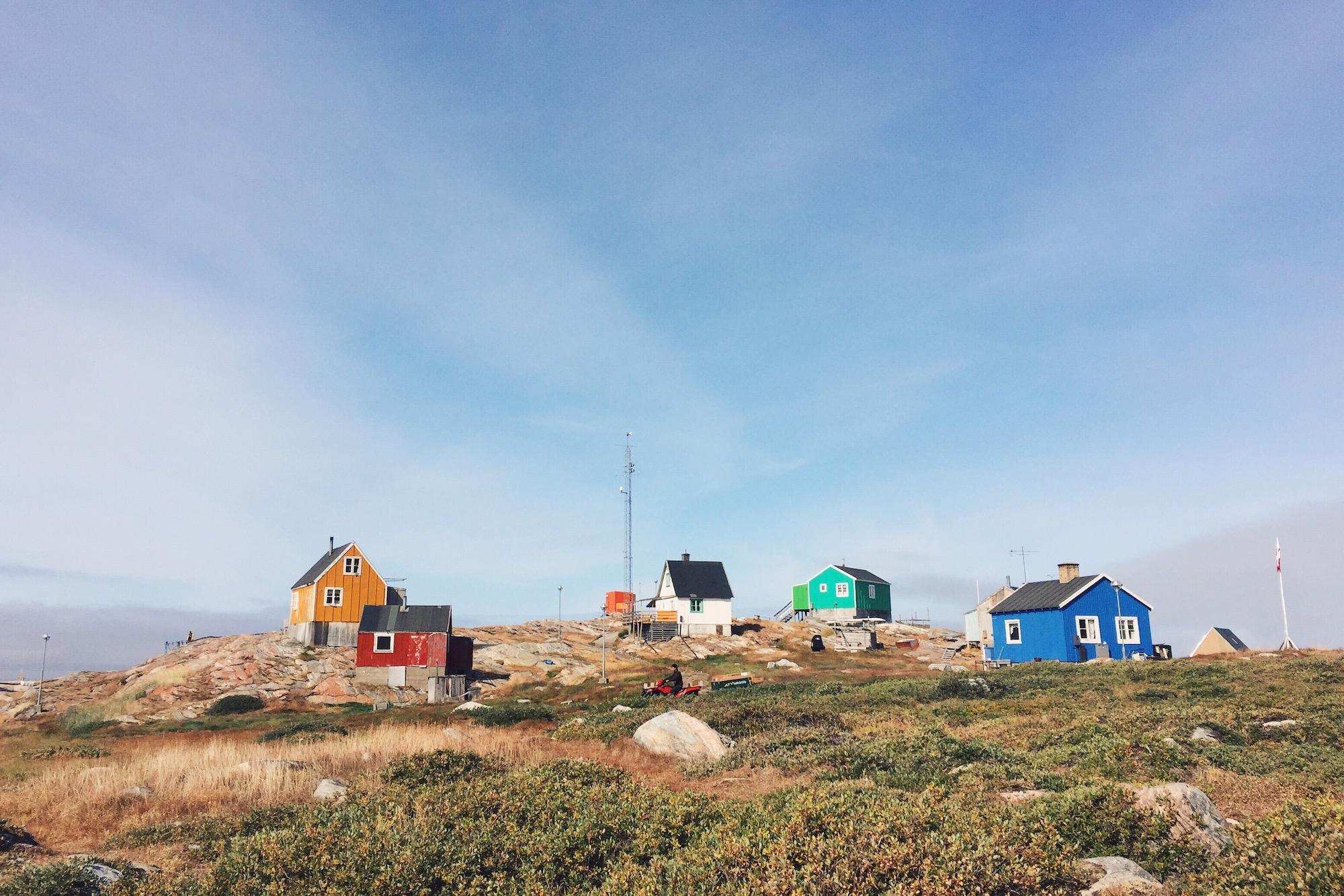 Ilimanaq, population just under 90 inhabitants. Photo credit: Nancy Forde