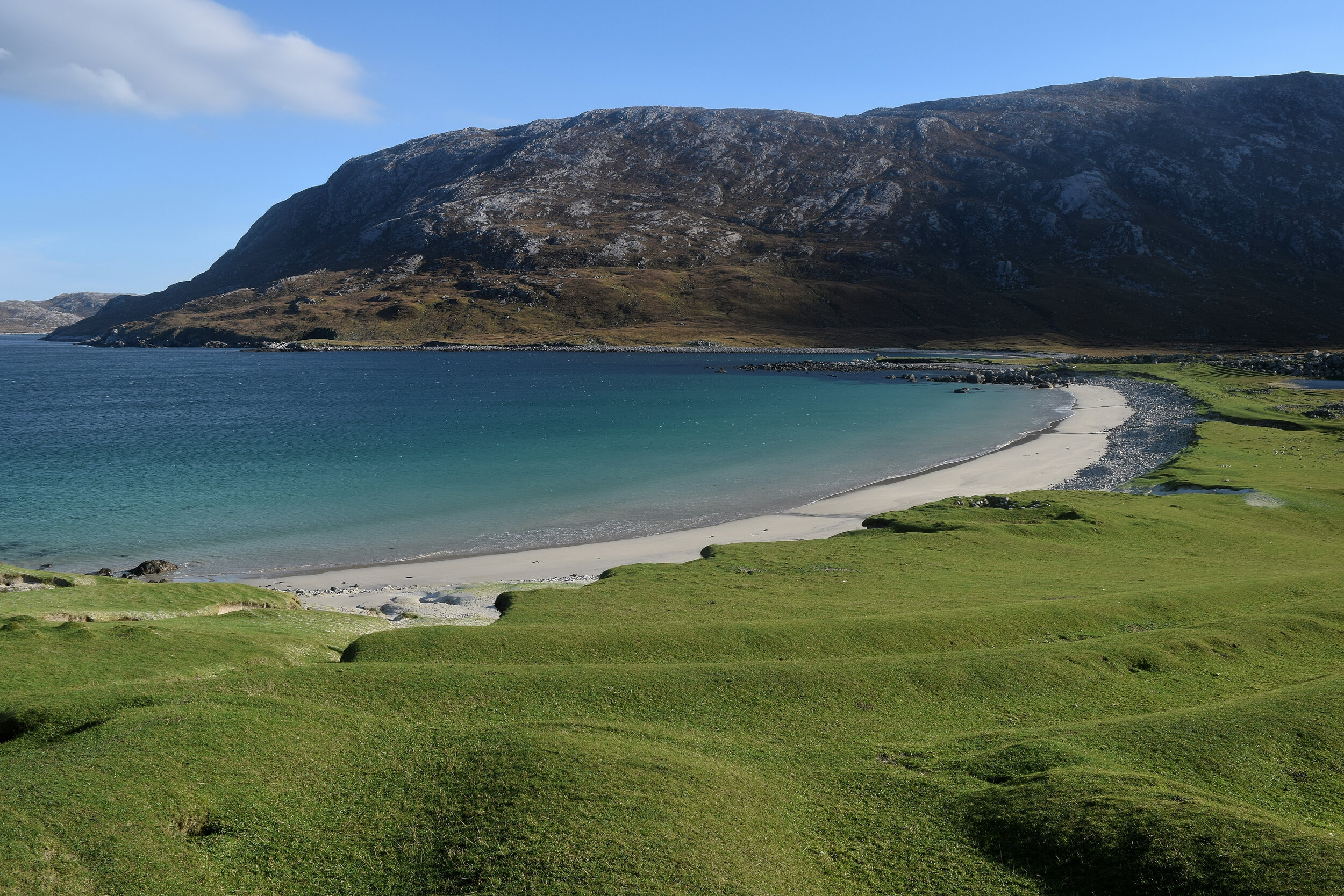 The dark land and the bright on Harris