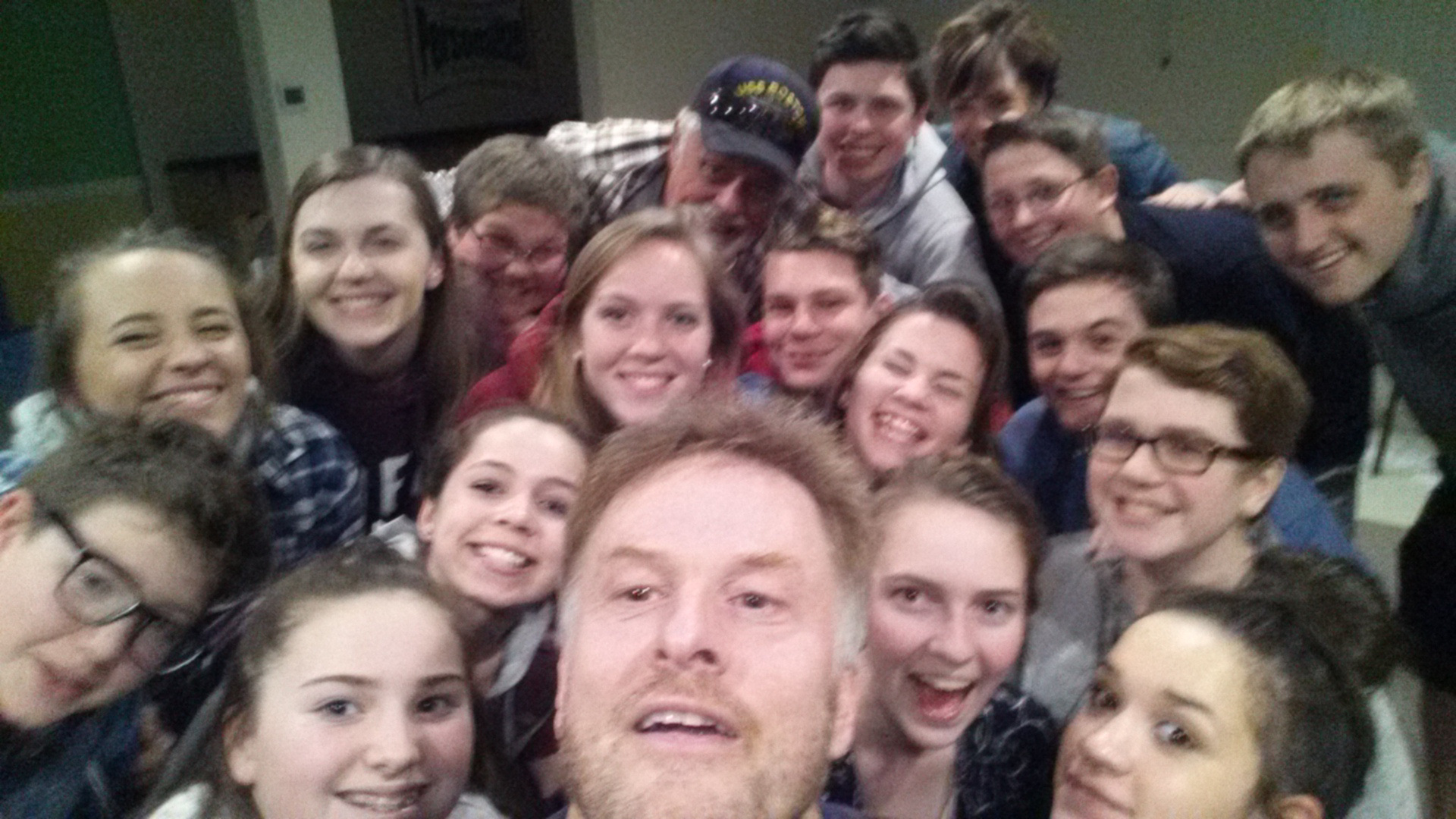 I got to hang out with the Youth Group at our Sandown this week. What an awesome group of youth people. Love them!
