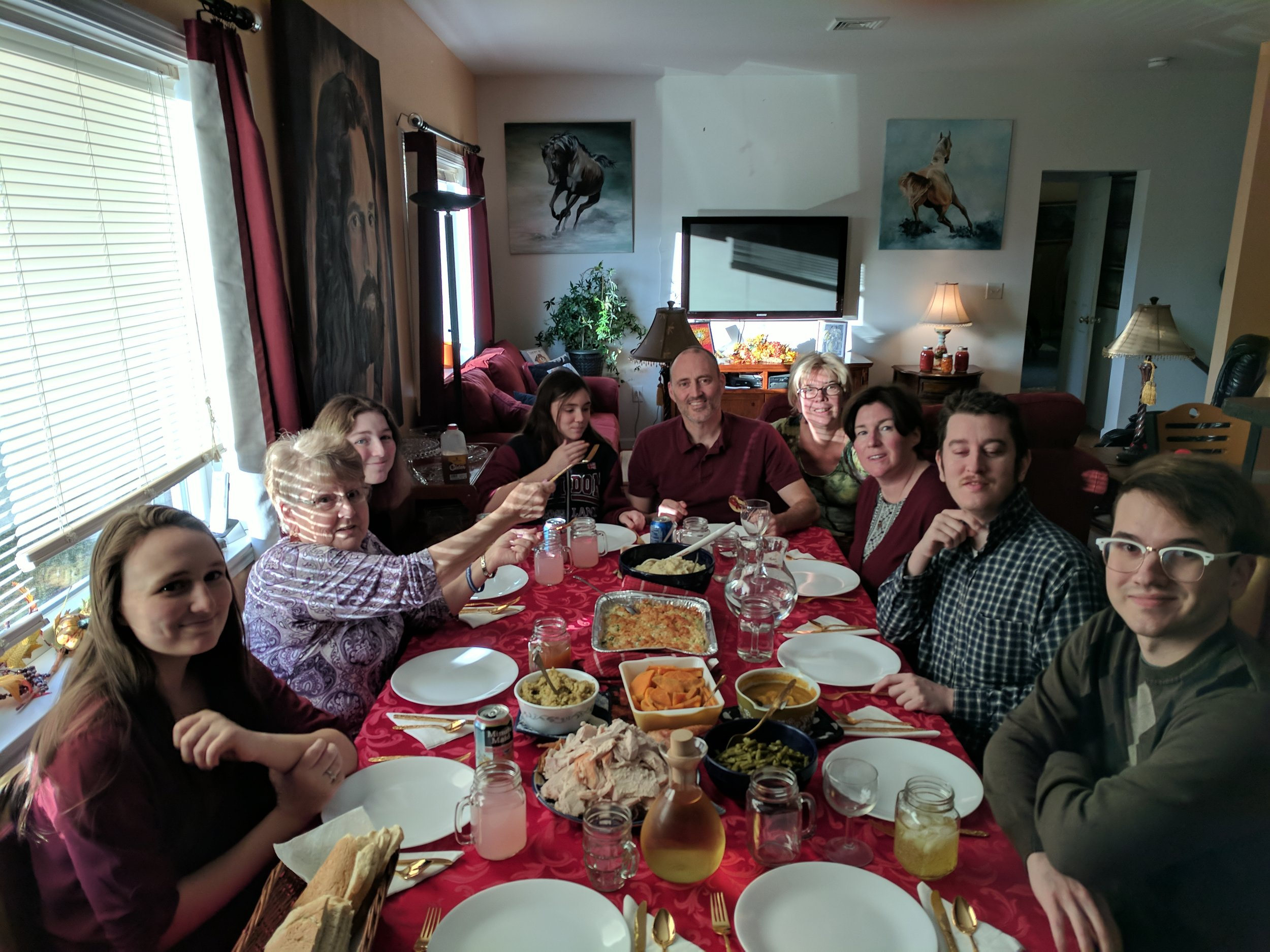 Thanksgiving at the Murray Home!