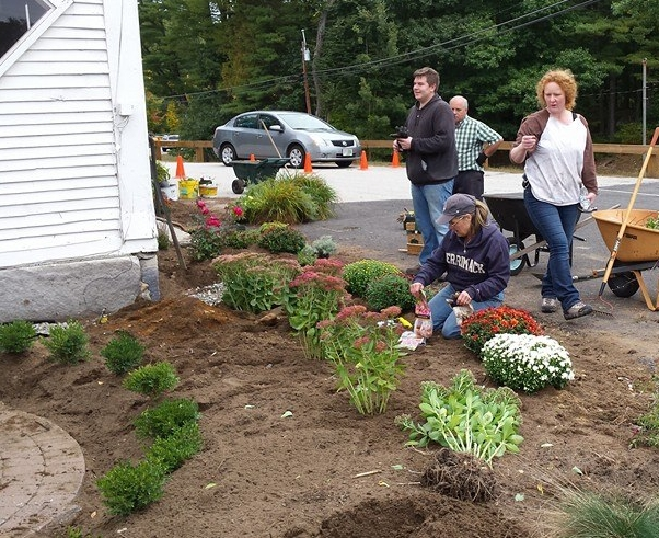 """We will be having a """"Planting Party"""" this Saturday at our Sandown campus at 9:00 am. Helpers welcome!"""