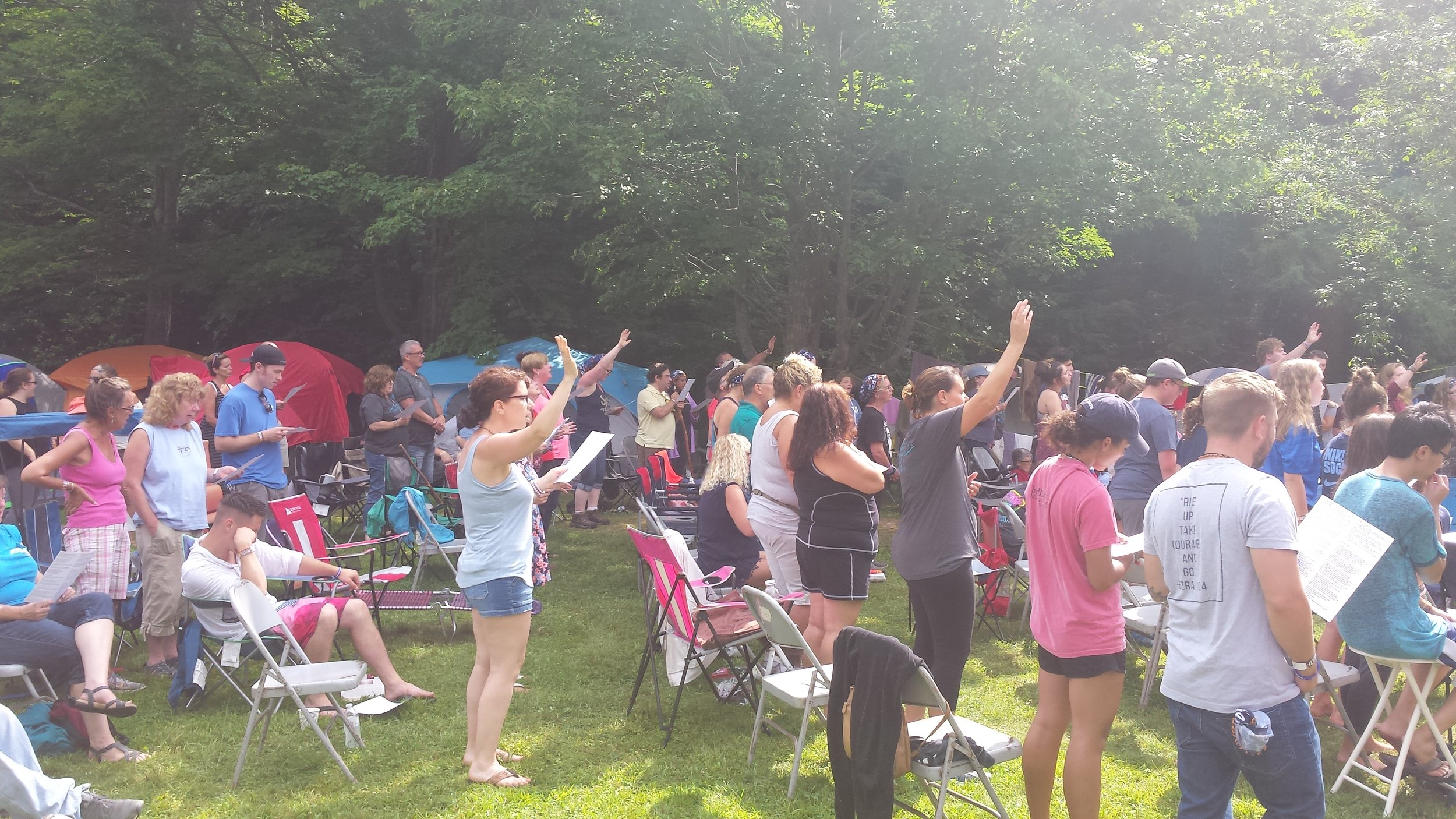 We have over 100 people attending Soulfest with Rock Church.  Pray for us for a great week.