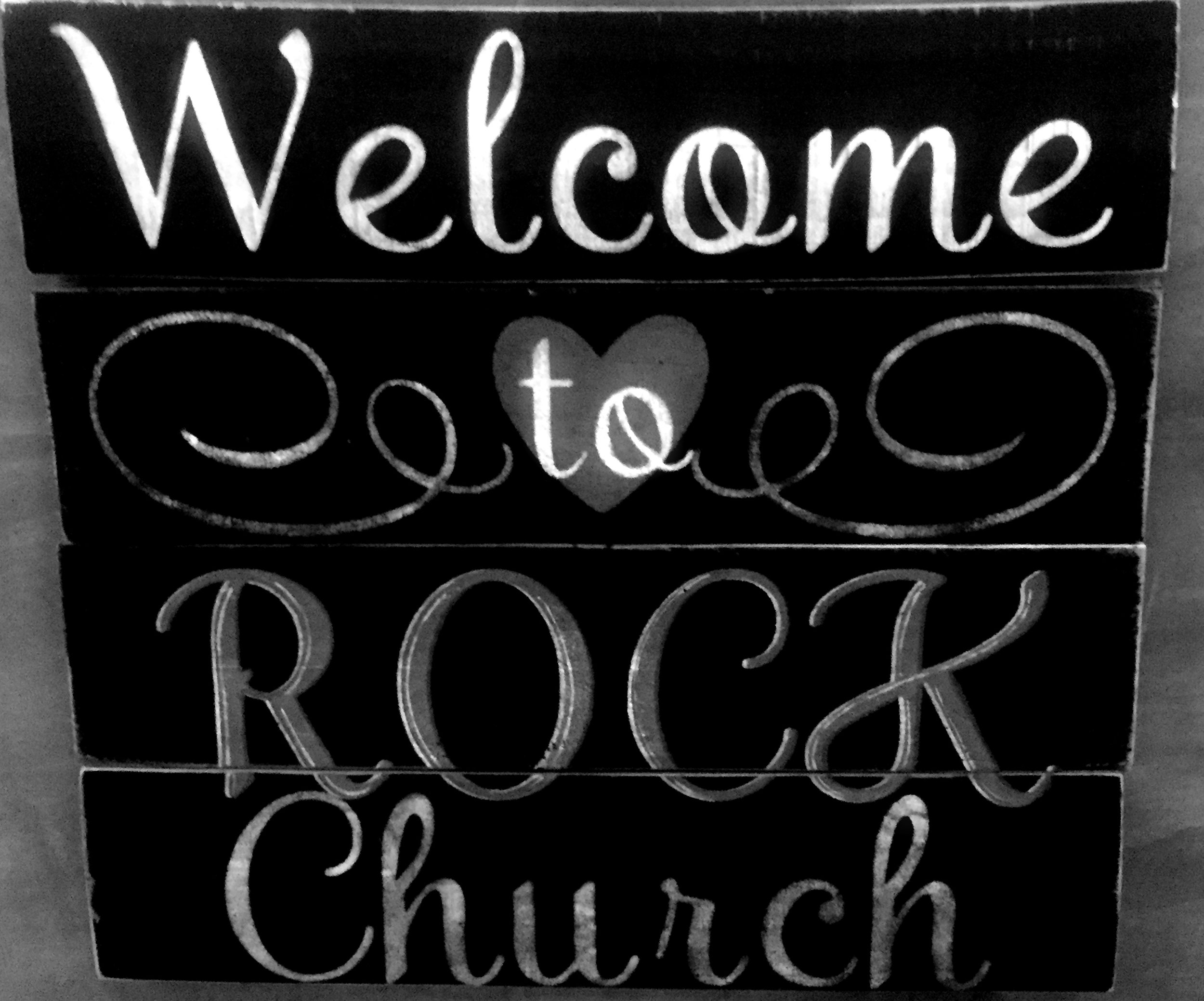 Welcome to Rock Church bw.jpg