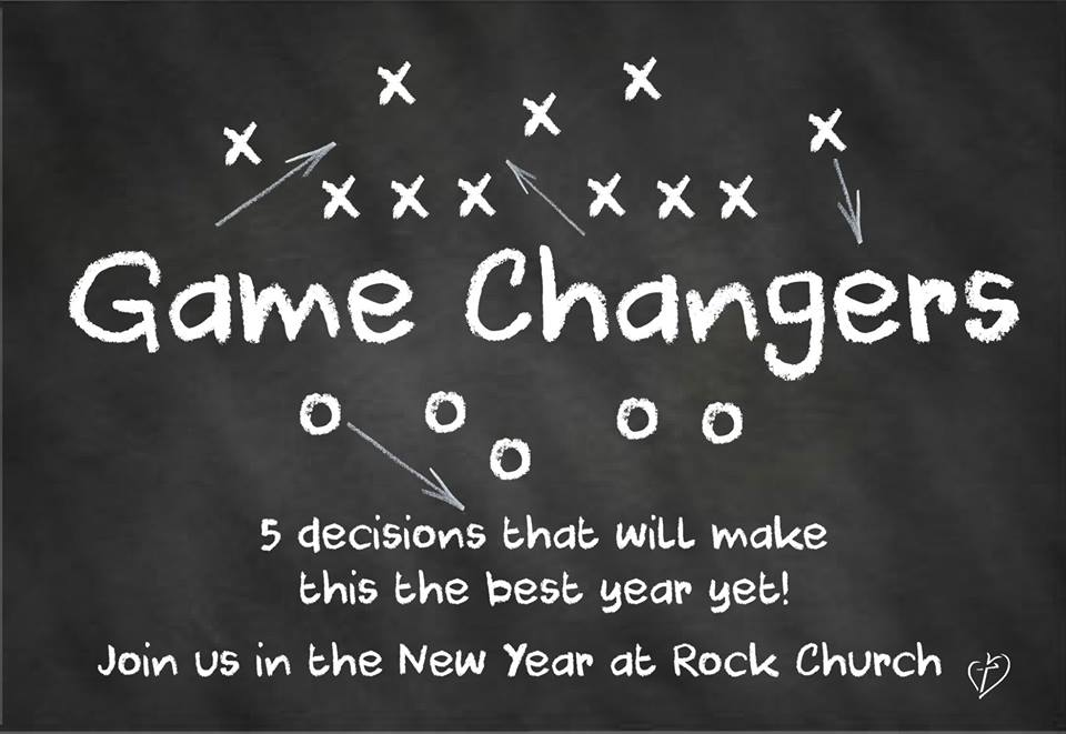 Game Changes-5 Decisions that will change you life for the better!