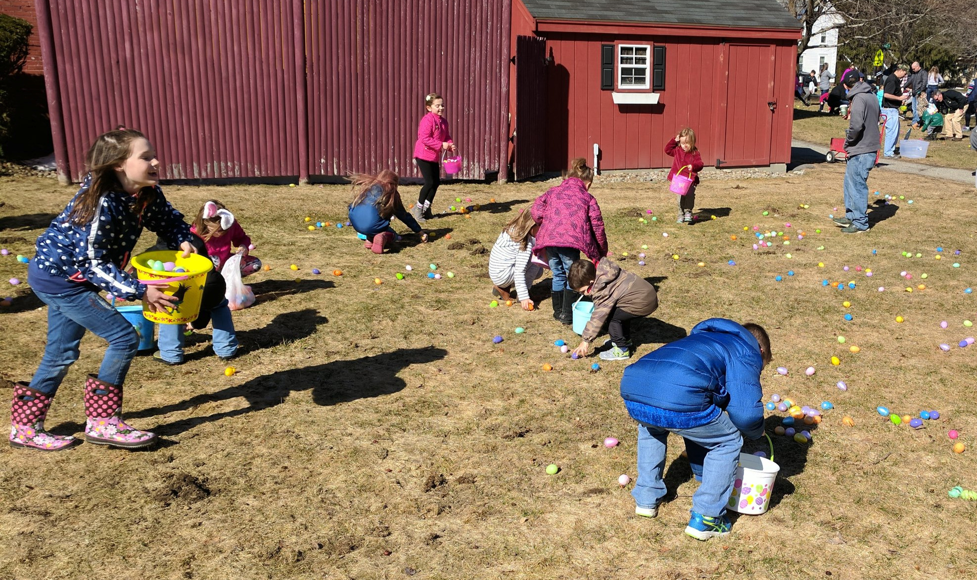 Sandown Egg Hunt is this Sat. April 13. Plaistow Egg Hunt Sat. April 20. North Shore on Easter Sunday April 21