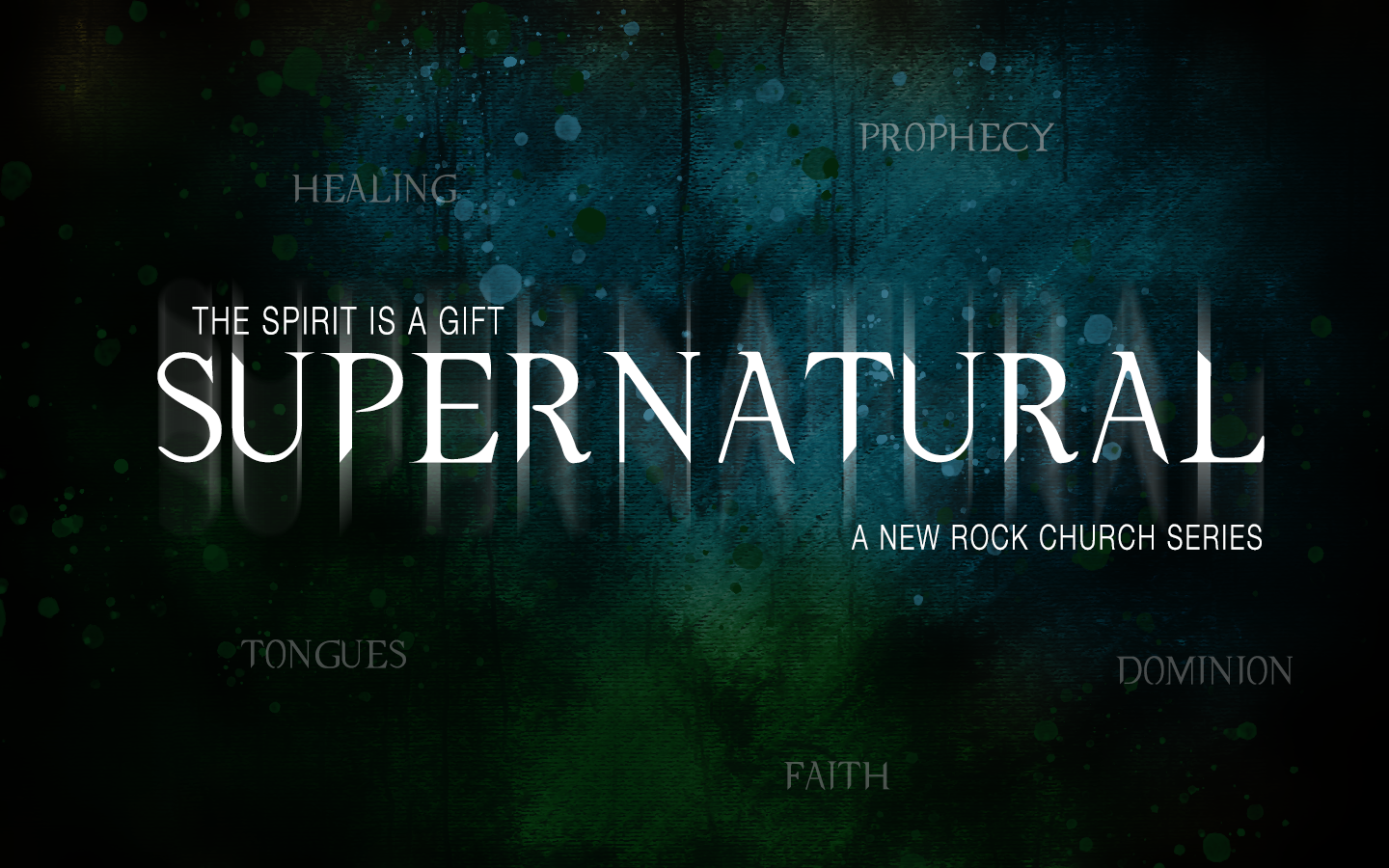 "Our new series ""Supernatural"" begins this Sunday, June 2 at all Rock locations."