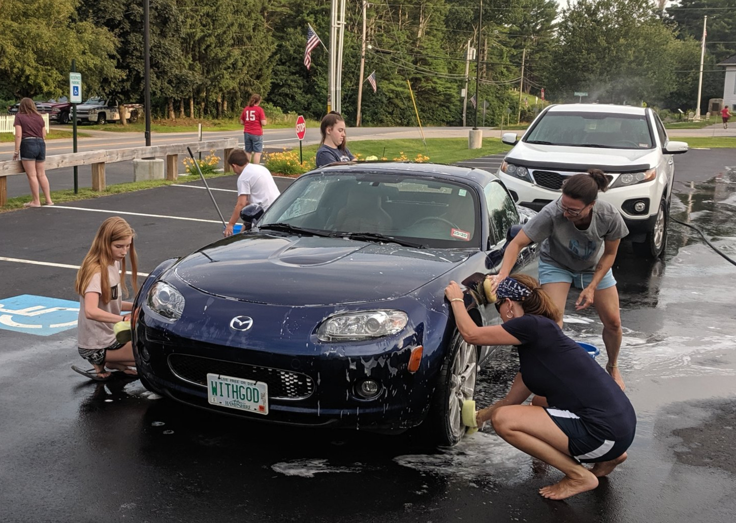 Thank you to everyone who supported the Youth Group car wash for Soulfest!