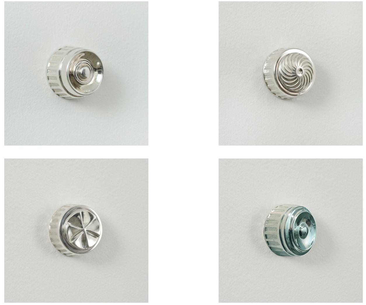 Paul Weston, Optic, Oeil, Ojo, Oculus, cast silver, 2016