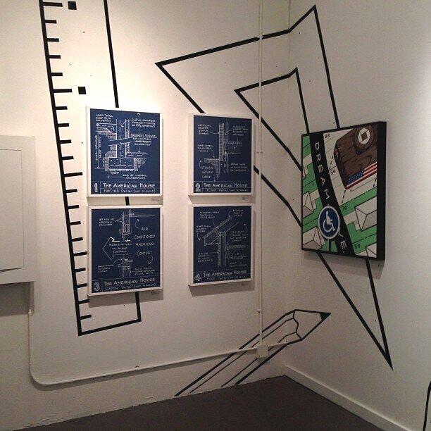 Breeze Block Gallery, Portland OR