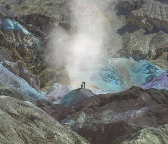 "Reuben Wu, Artists Palette, 12"" x 12"""
