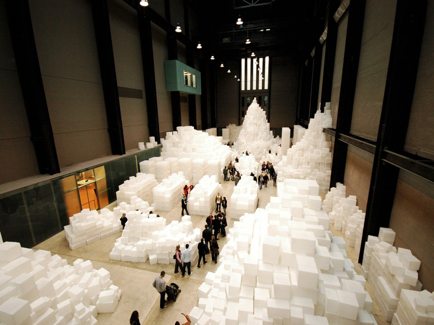 Rachel Whiteread at the Tate Modern in 2006.