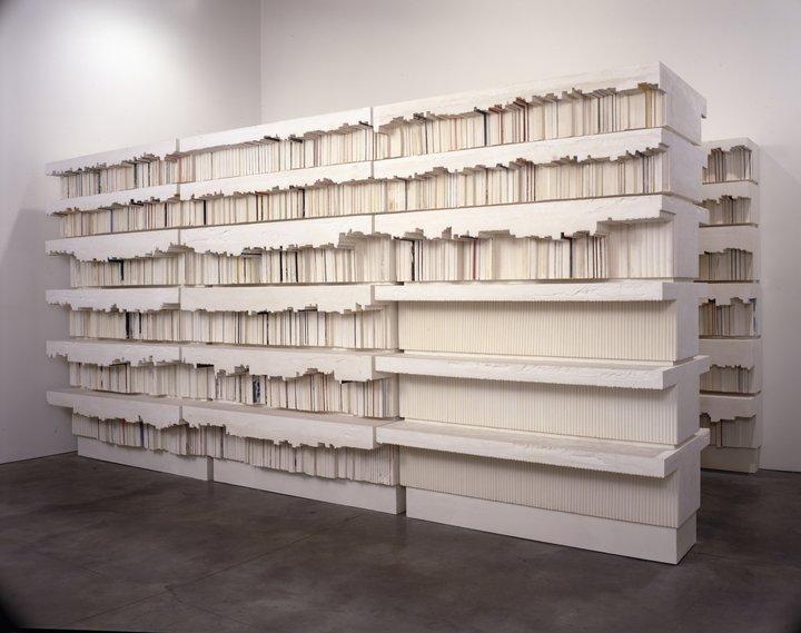 Rachel Whiteread Untitled (Book Corridors)1998 © Rachel Whiteread