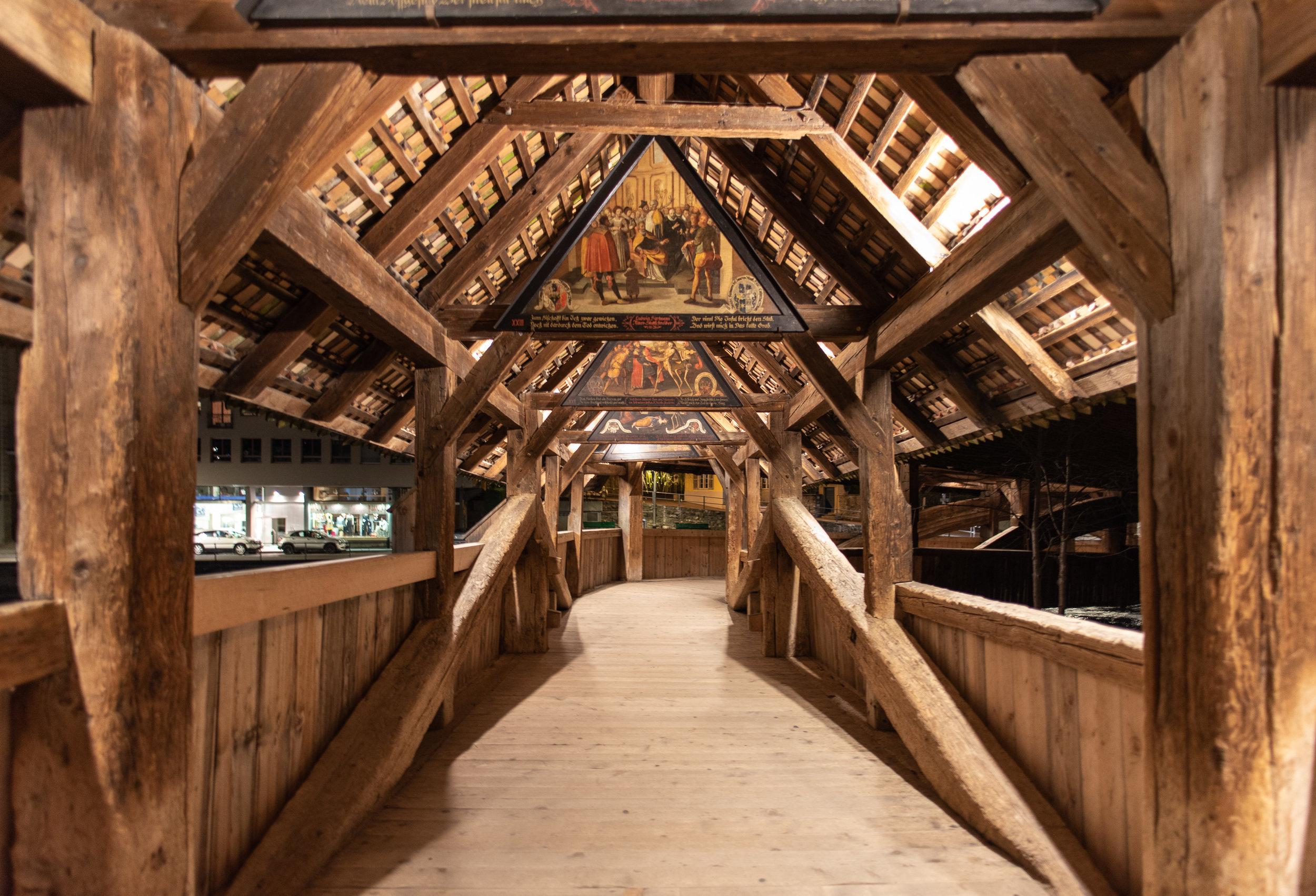 A Day in Luzern Switzerland Spruer Bridge X Pendulum Magazine