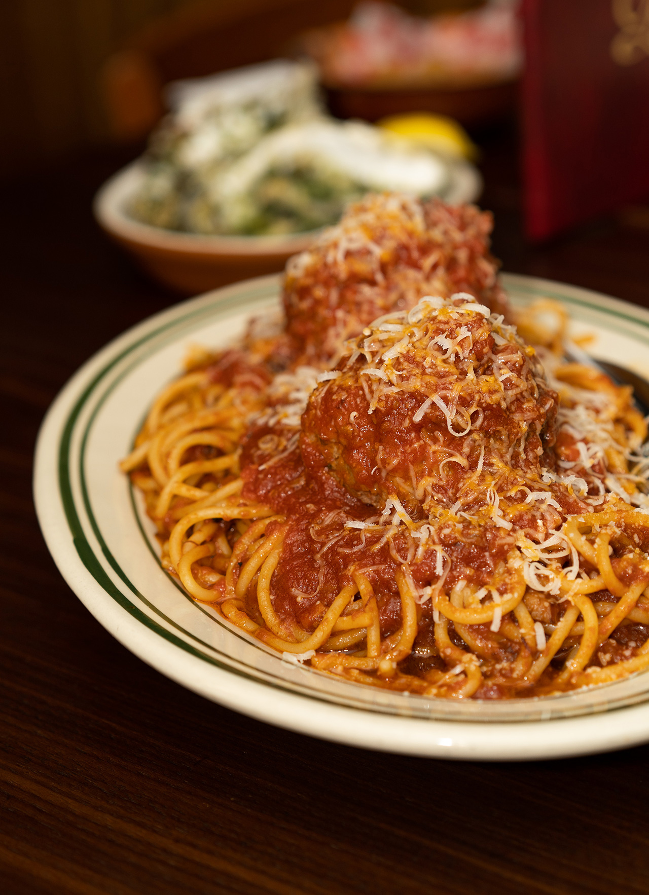 Classic Spaghetti and Meatballs.