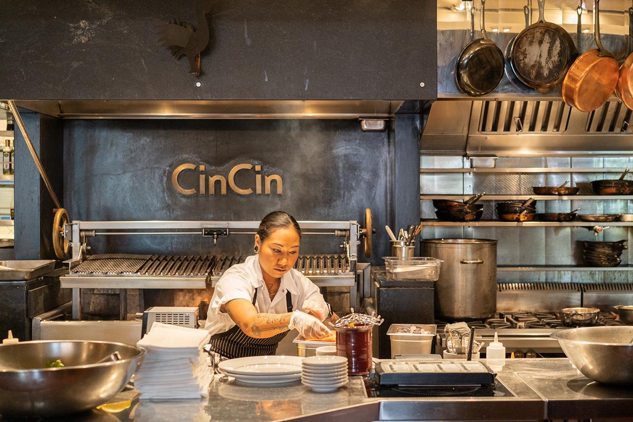 Chef de Cuisine Andrea Alridge.