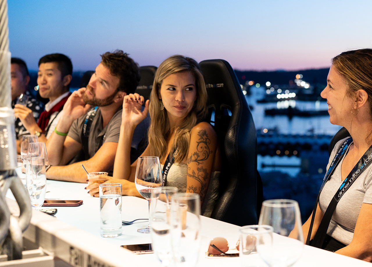 Dinner In The Sky Canada X Travelzoo Canada X Chef Ned Bell