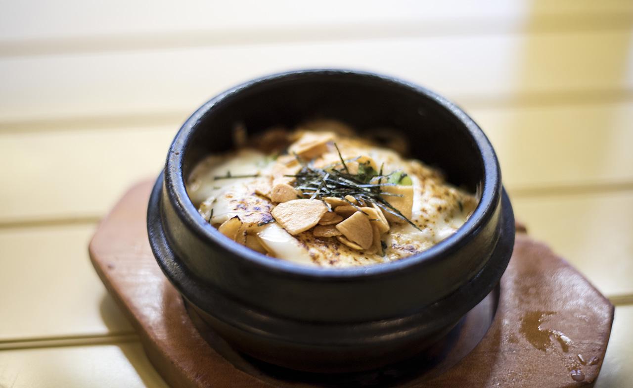 Pendulum Magazine X Green Leaf Sushi Kimchi Cheese Udon