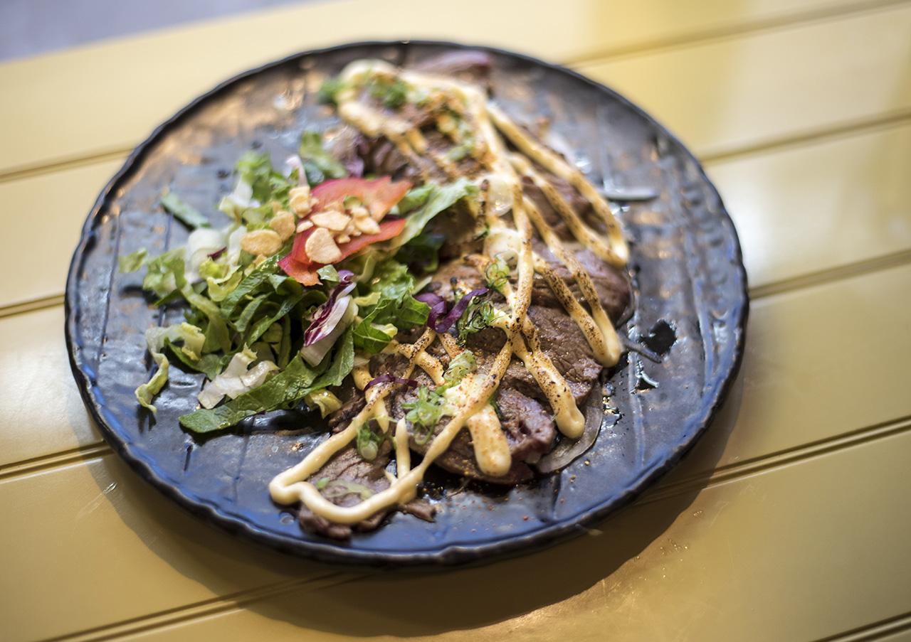 Tenderloin Beef Tataki.