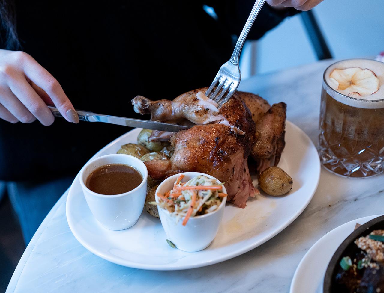 Homer Street Cafe Rotisserie Chicken X Pendulum Magazine