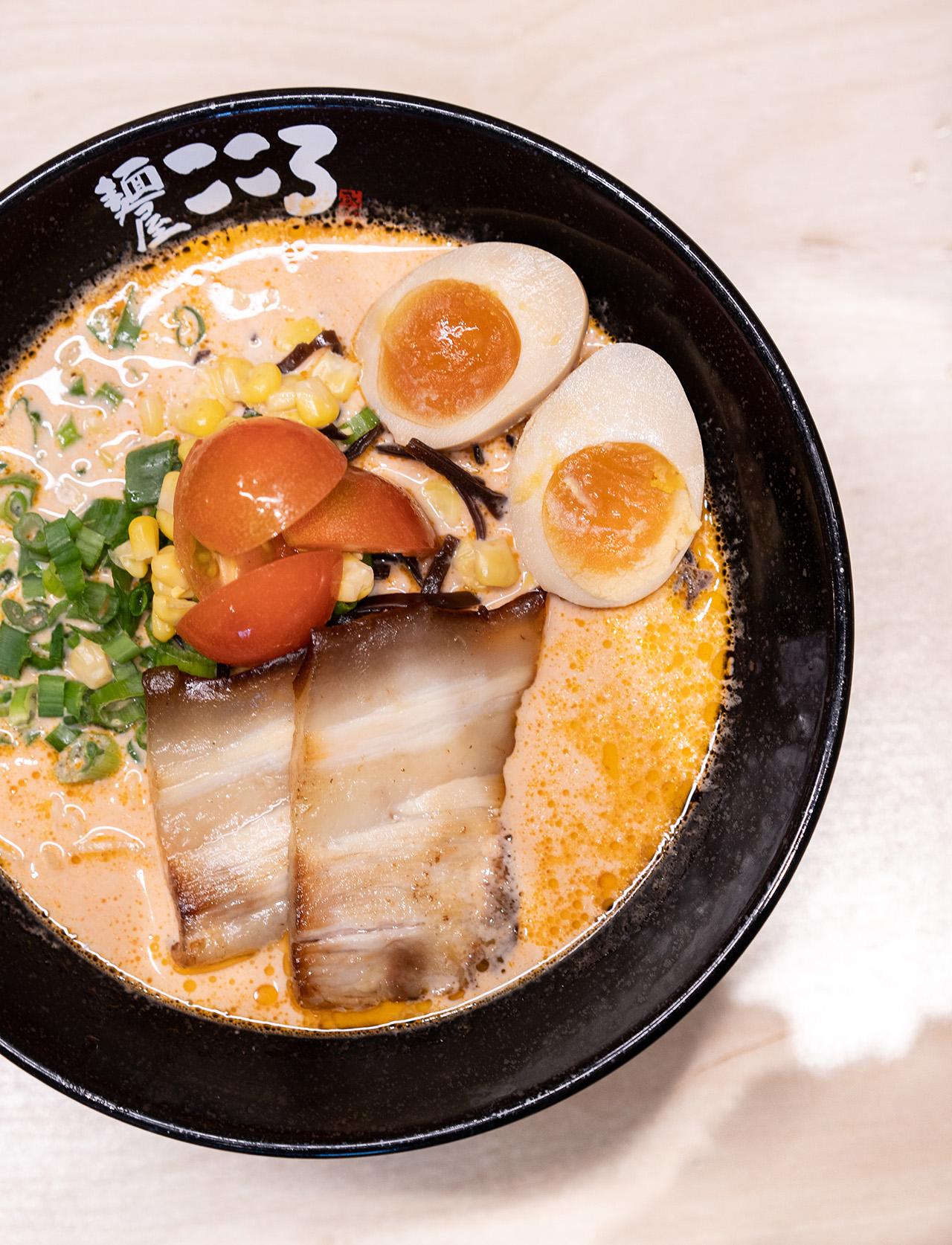 Tonkotsu Tomato Ramen.