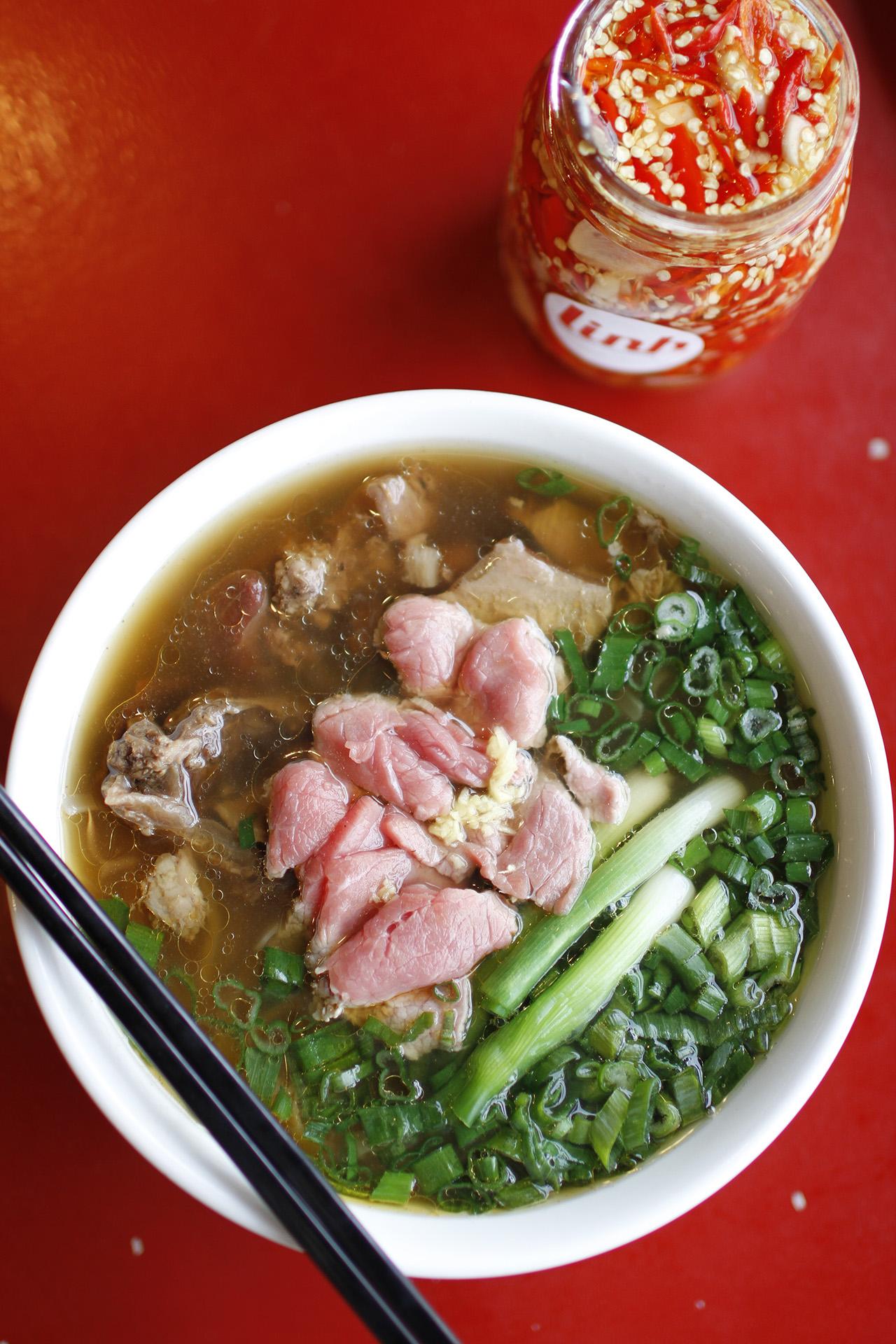 Phở Bo Hanoi Breakfast.
