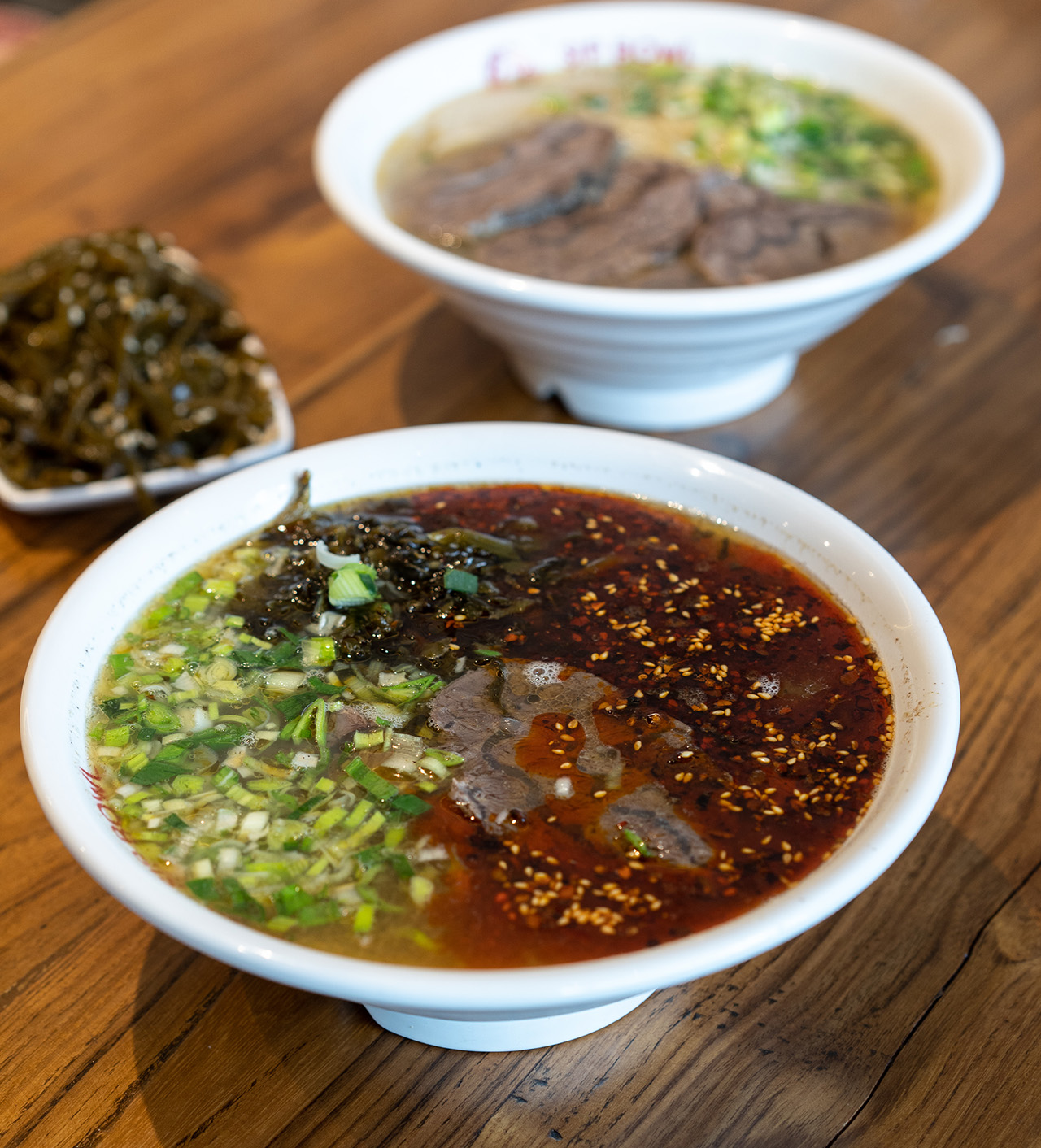 Spicy Braised Beef Noodle.