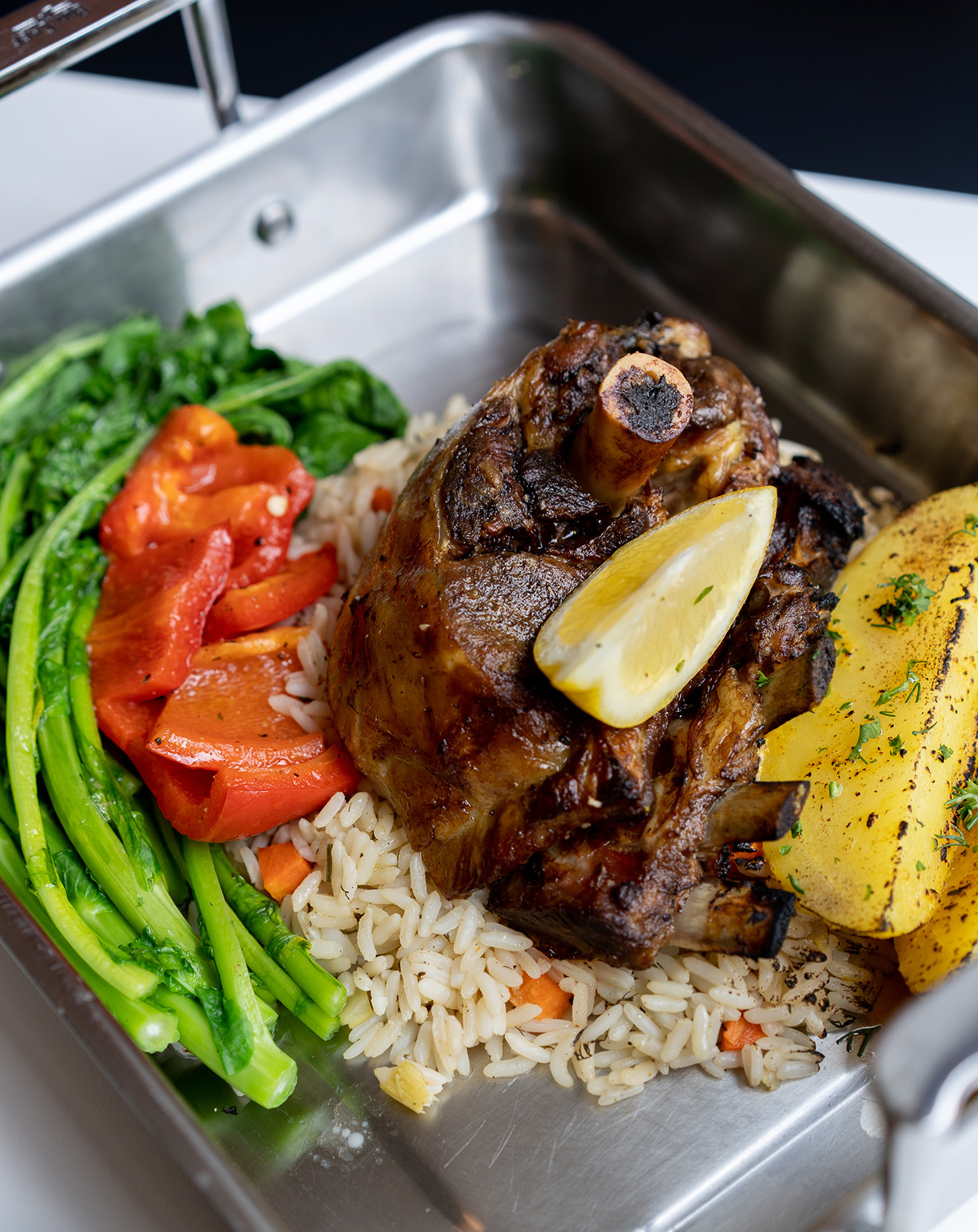 Country Lamb Platter - best for those who are hungry!