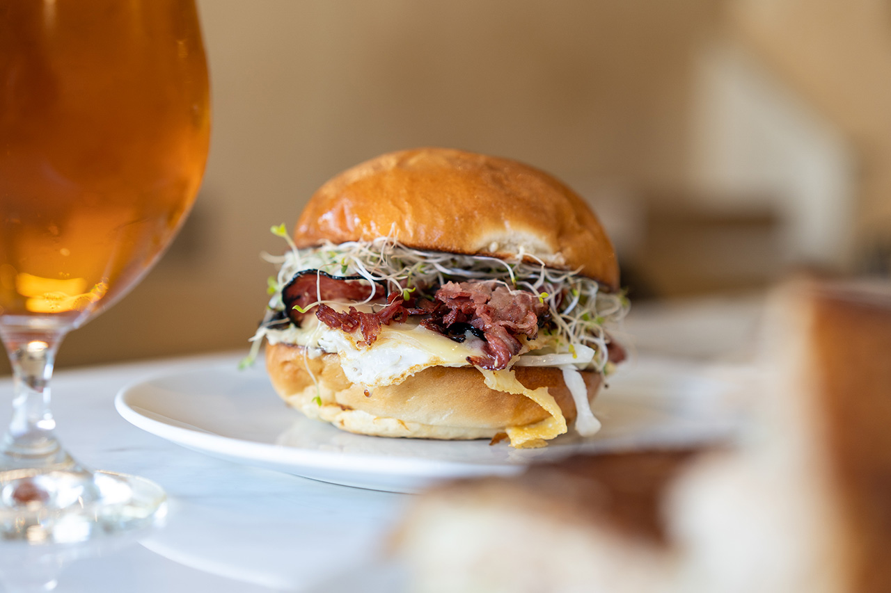 We knew you wanted a second look at the Smoked Meat Sandwich.