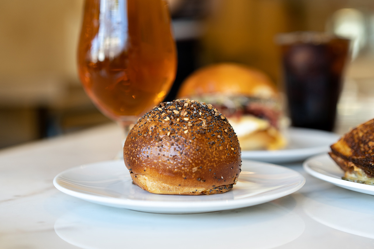 Goat Cheese Bagel Bomb. Need you ask what's inside?