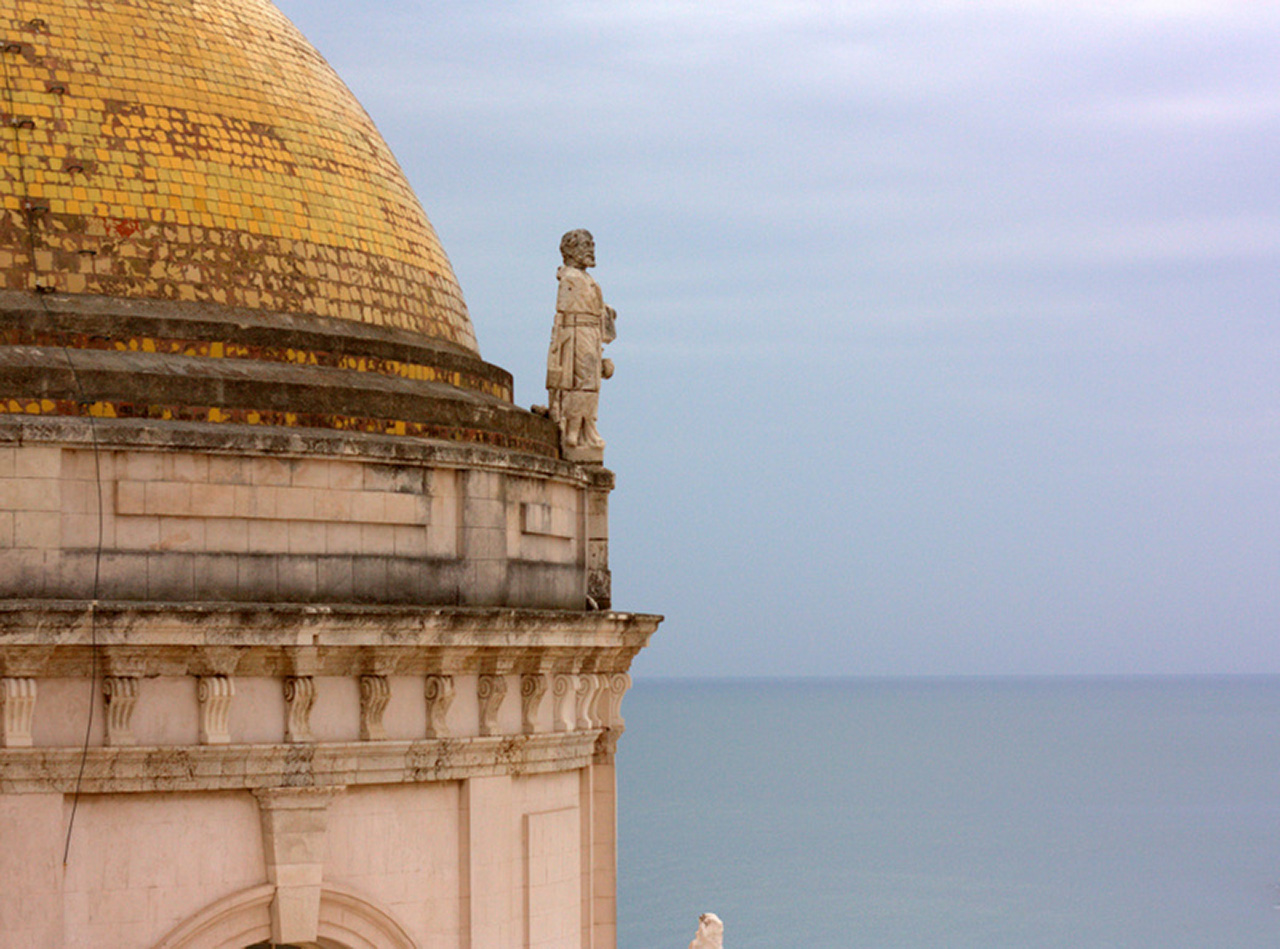 Views from the bellower in Cadiz.