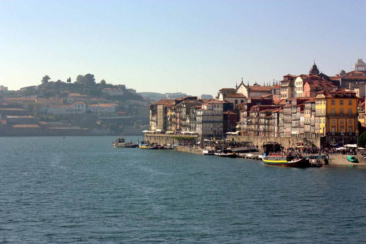 The beautiful Douro River in Porto.