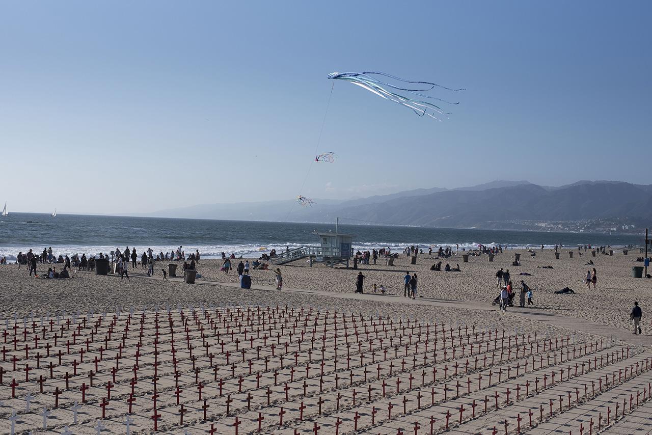 Pendulum Magazine X Santa Monica Beach Pier Art Installation