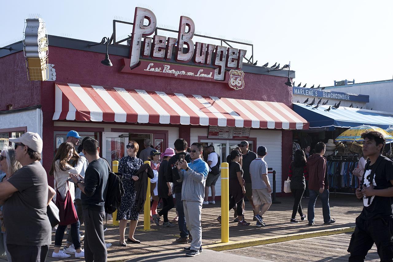 Pendulum Magazine X Santa Monica Beach Pier